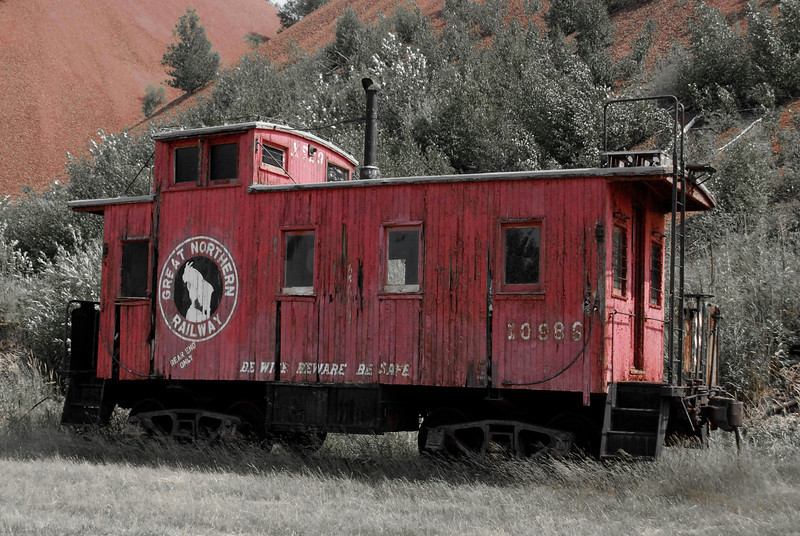 1924 Caboose (commissioned 1971) - Found at Hill Annex Mine, Northern Minnesota