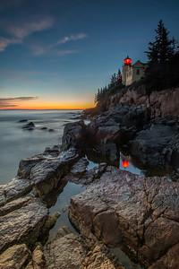 #649 Bass Harbor Head Lighthouse