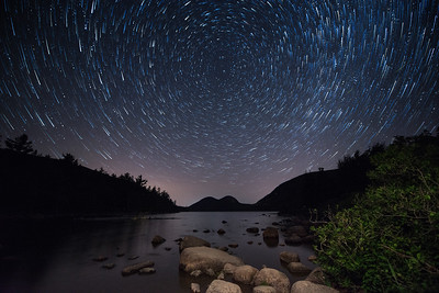 #473x Jordan Pond Star Trail