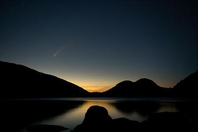 #1481 Neowise Comet over Jordan Pond