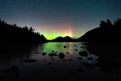 #1809 Jordan Pond Aurora