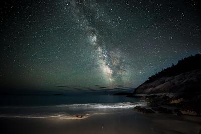 #569 Stars over Sand Beach