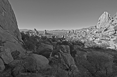 """Rockscape"", Dragoon Mountains, Az., 01/02/10"