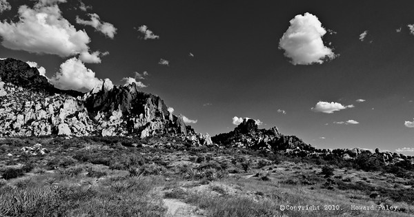 """Dragoon Rockscape"", Dragoon Mountains, Az., 09/04/10."