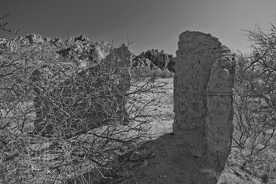 """Future Past"", White House Ruins, Dragoon Mountains, Az., 01/02/10"