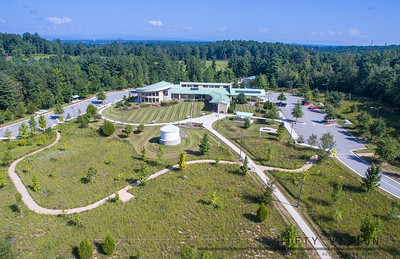 Wilkes County Visitor Center aerial