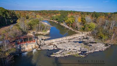 Milburnie Dam - November 5, 2017