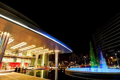 Dubai. Dubai Mall, Fountain.