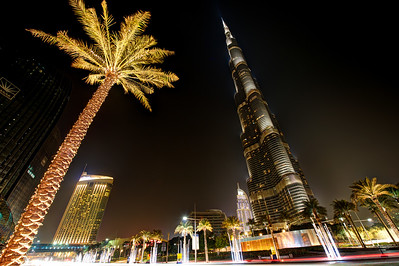 Dubai. Burj Khalifa, The Address, Dubai Mall