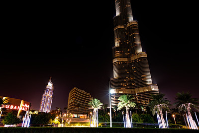Dubai. Burj Khalifa, Dubai Mall, The Address.