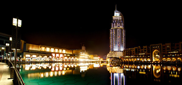 Dubai. The Address and the Dubai Mall.