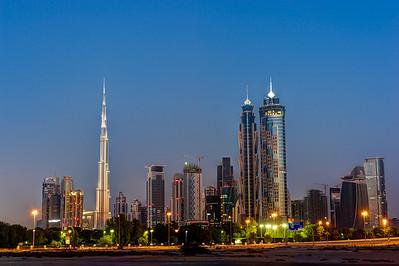 Dubai. Skyline.