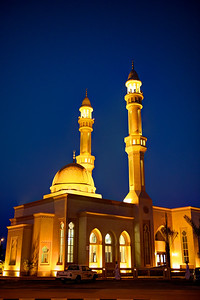 Dubai. Mosque on Umm Al Sheif.