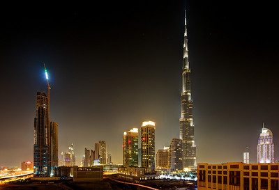 Dubai. Burj Khalifa, The Address.
