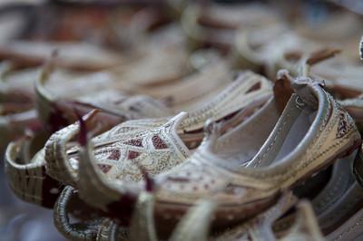 Shoe row - Deira souks