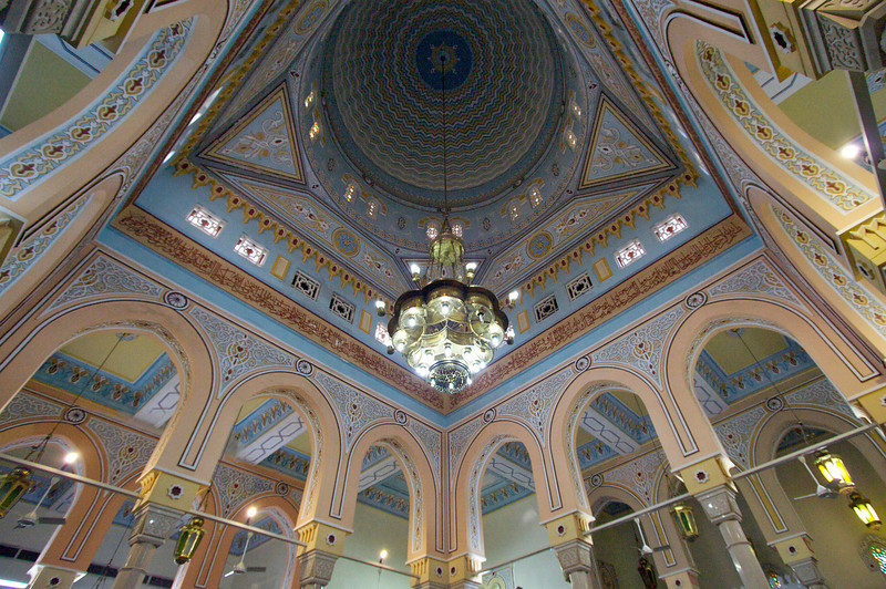 Interior ceiling and arches - Jumeirah Mosque