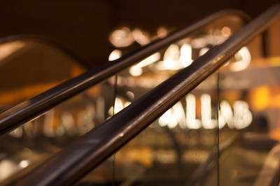 Escalator and lights - Dubai Mall