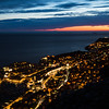 Dubrovnik twinkling at night