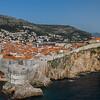Dubrovnik city walls panorama