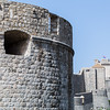 Outside of Dubrovnik's city walls