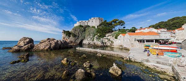 Fort Lovrijenac panorama