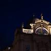 St Blaise church at night