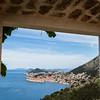 Framing Stari Grad in Dubrovnik
