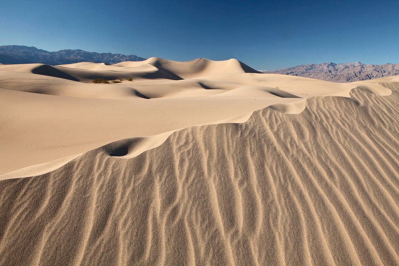 Sand dune scenic, Death Valley, CA