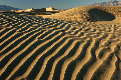 Death Valley dunescape 3, California