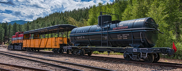 A fact of life in Durango, Colorado for the Durango & Silverton Narrow Gauge Railroad is the ever-present need of preparedness for the potential of wildfire caused by the train.