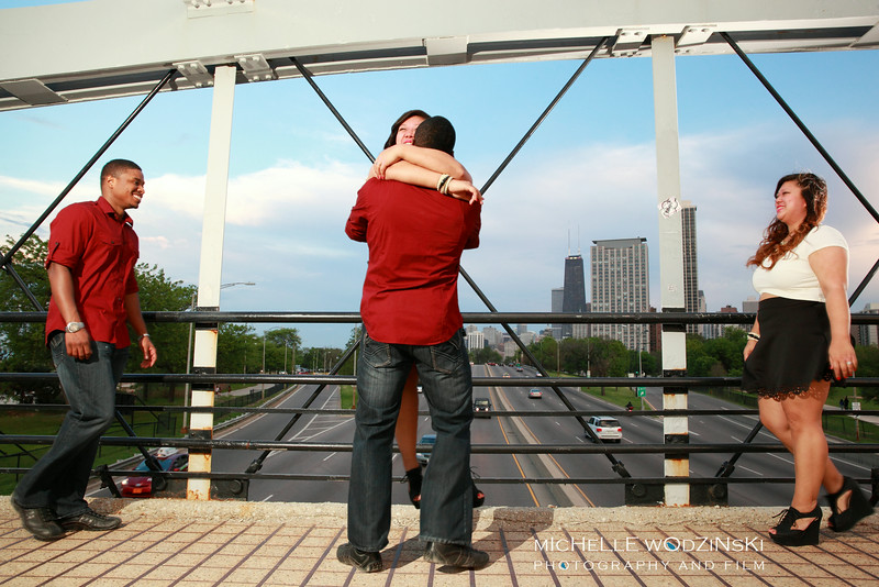 MARICELLA + KERON<br /> <br /> North Ave Pedestrian Bridge