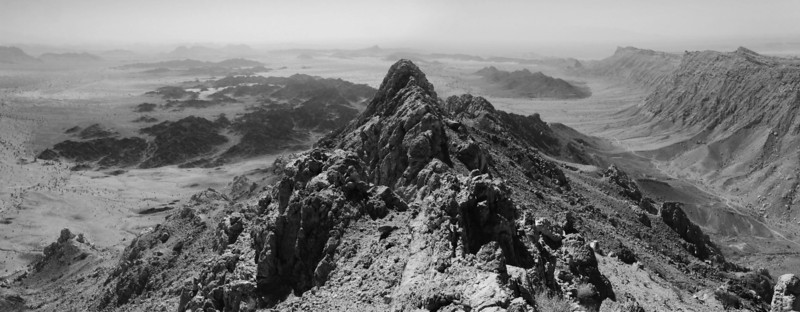 View from summit of Jebel Abiyal<br /> Oman