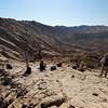 At the start of the ridge ascent, Jebel Qatara<br /> Oman