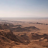 View from the plateau on Jebel Qatara<br /> Oman