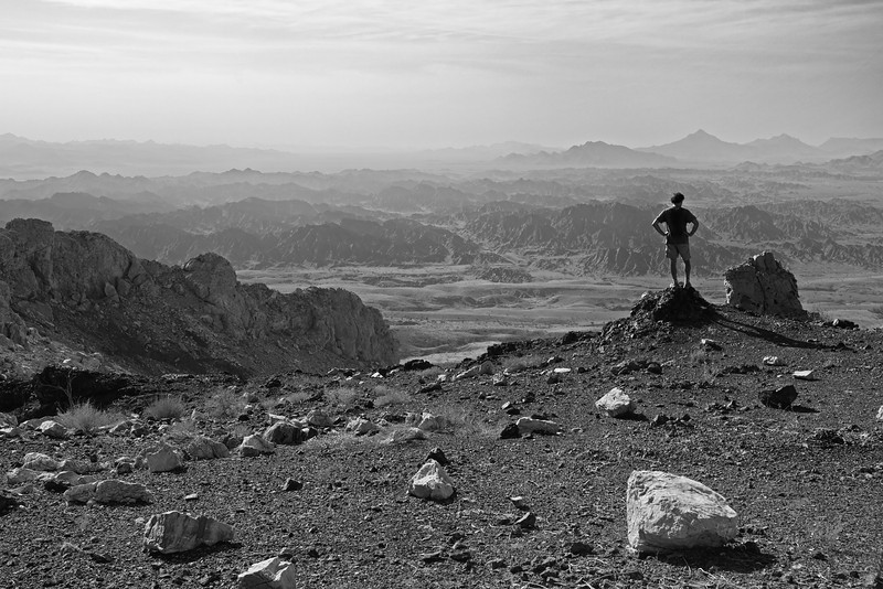 Views from Swiss mountain, Oman.