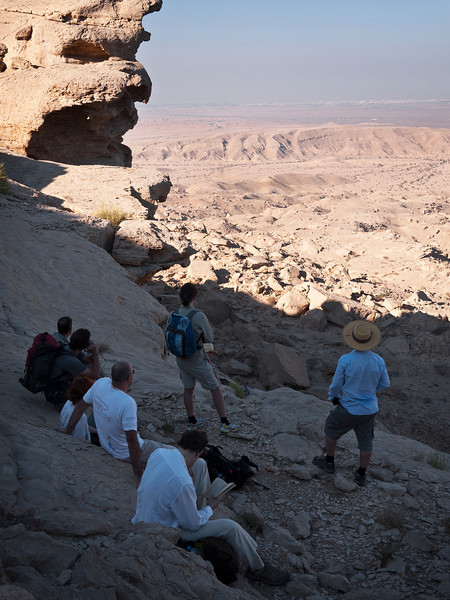 View from Jebel Qatara<br /> Oman