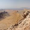 View from the summit of Jebel Qatara<br /> Oman