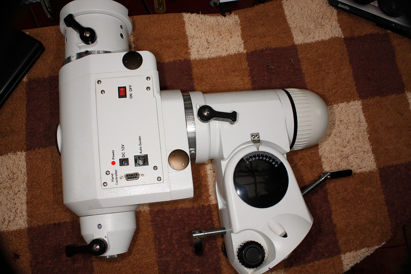 Picture of the other side of the EQ6 Pro mount before disassembling