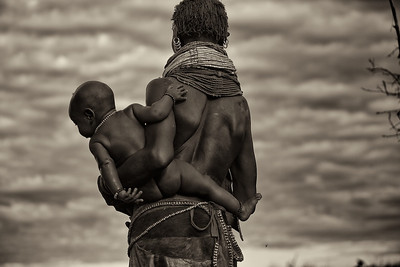 ETHIOPIA -OMO- 2013- B /W- HUMANITY IS ART