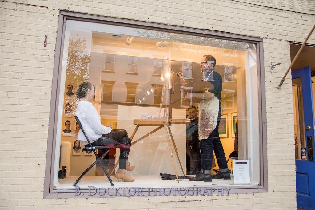 Carl Grauer opening at 510 Warren St  Gallery-34
