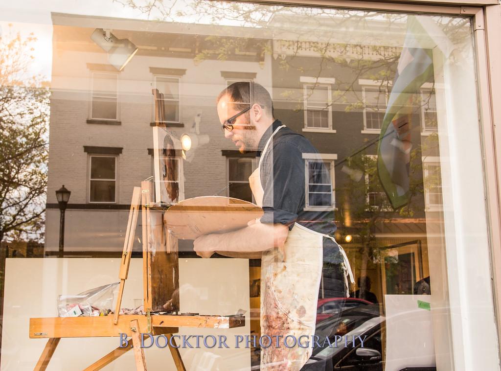 Carl Grauer opening at 510 Warren St  Gallery-5