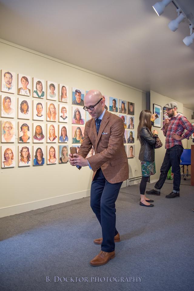 Carl Grauer opening at 510 Warren St  Gallery-25