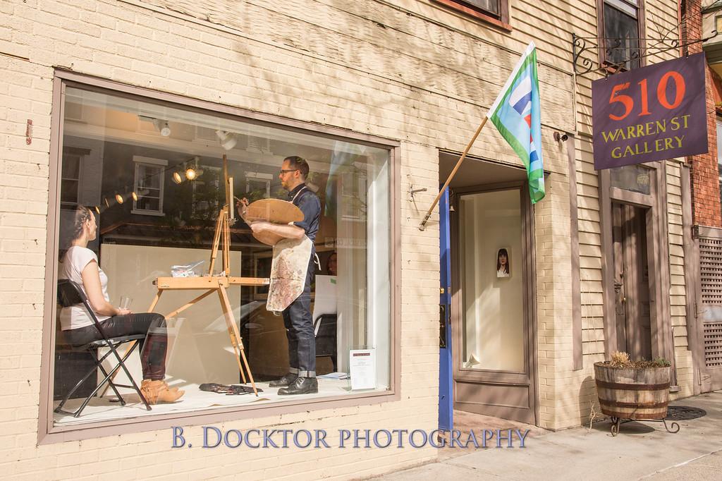 Carl Grauer opening at 510 Warren St  Gallery-4