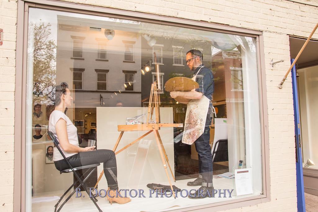 Carl Grauer opening at 510 Warren St  Gallery-1