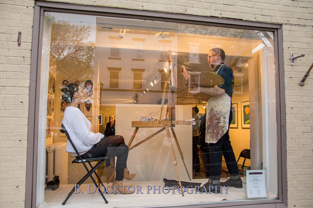 Carl Grauer opening at 510 Warren St  Gallery-36