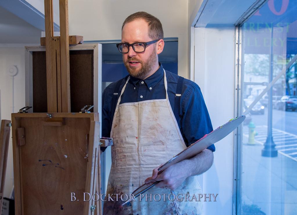 Carl Grauer opening at 510 Warren St  Gallery-29
