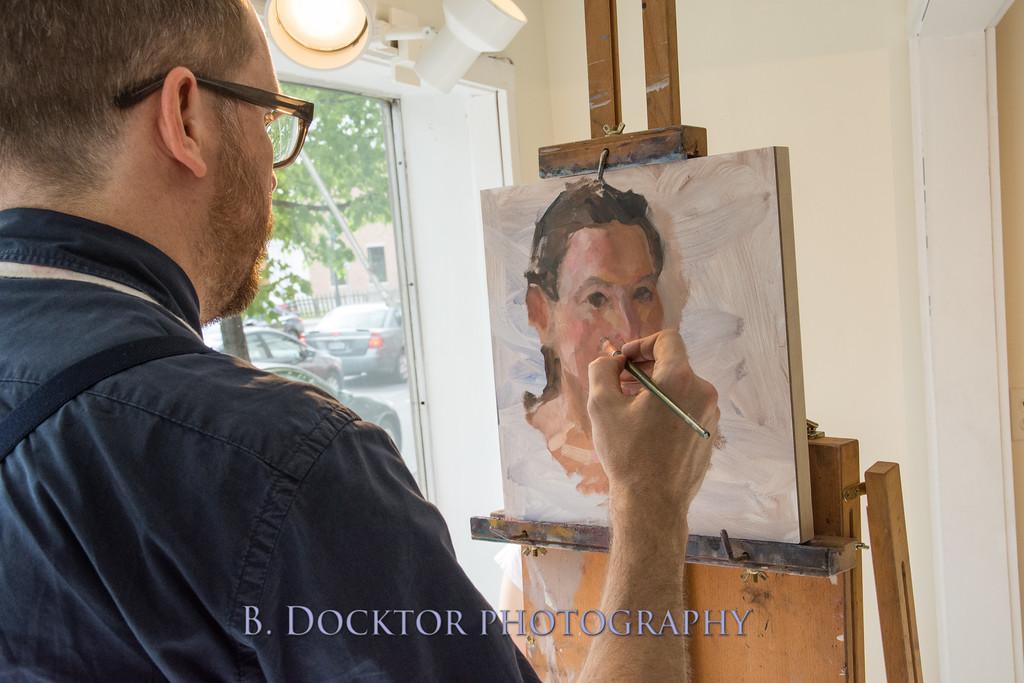 Carl Grauer opening at 510 Warren St  Gallery-13