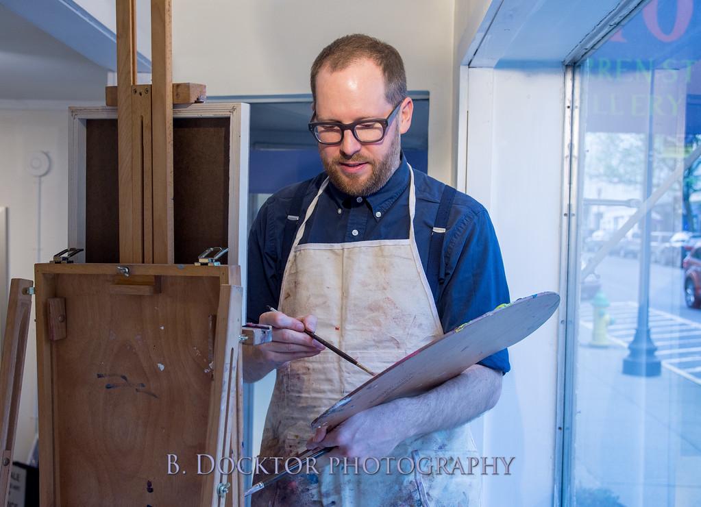 Carl Grauer opening at 510 Warren St  Gallery-28
