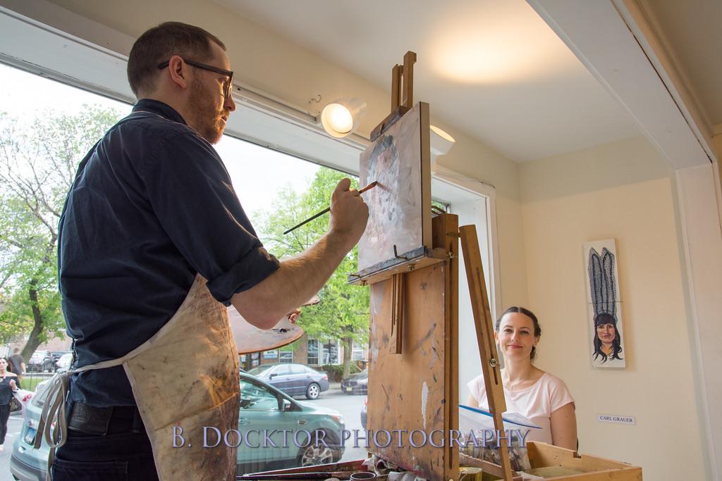 Carl Grauer opening at 510 Warren St  Gallery-6