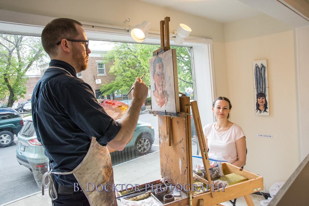 Carl Grauer opening at 510 Warren St  Gallery-12